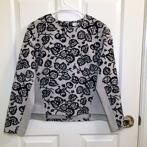 Elizabeth and James Floral Sweater
